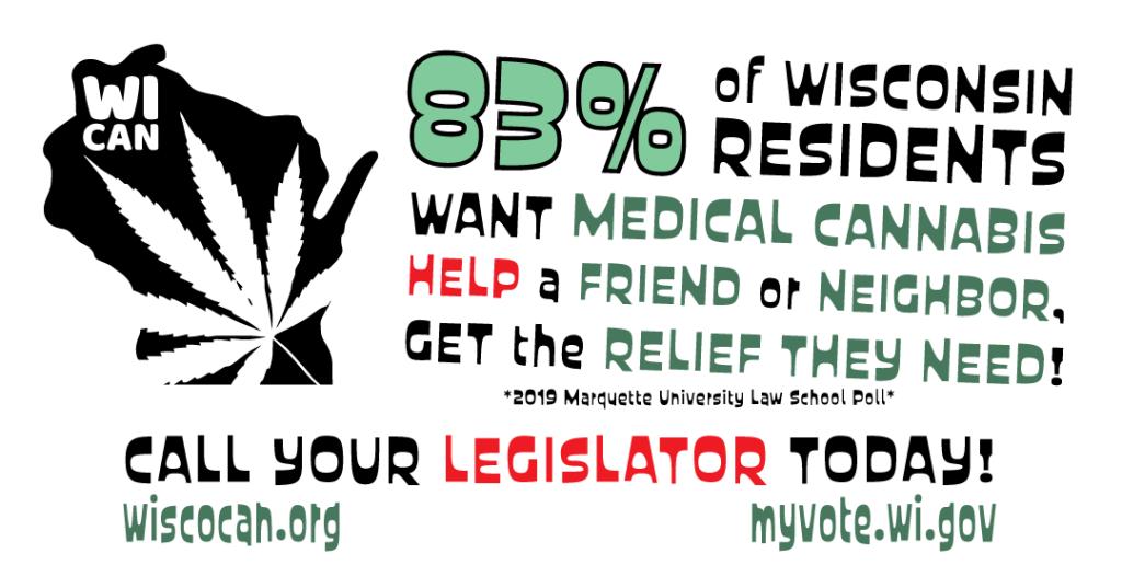 83% Support for medical marijuana in Wisconsin